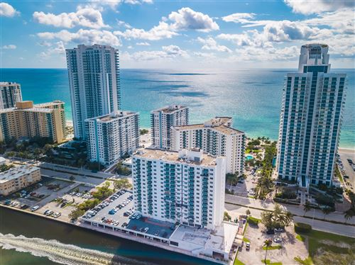 Photo of 3000 S Ocean Drive #1400, Hollywood, FL 33019 (MLS # RX-10632024)