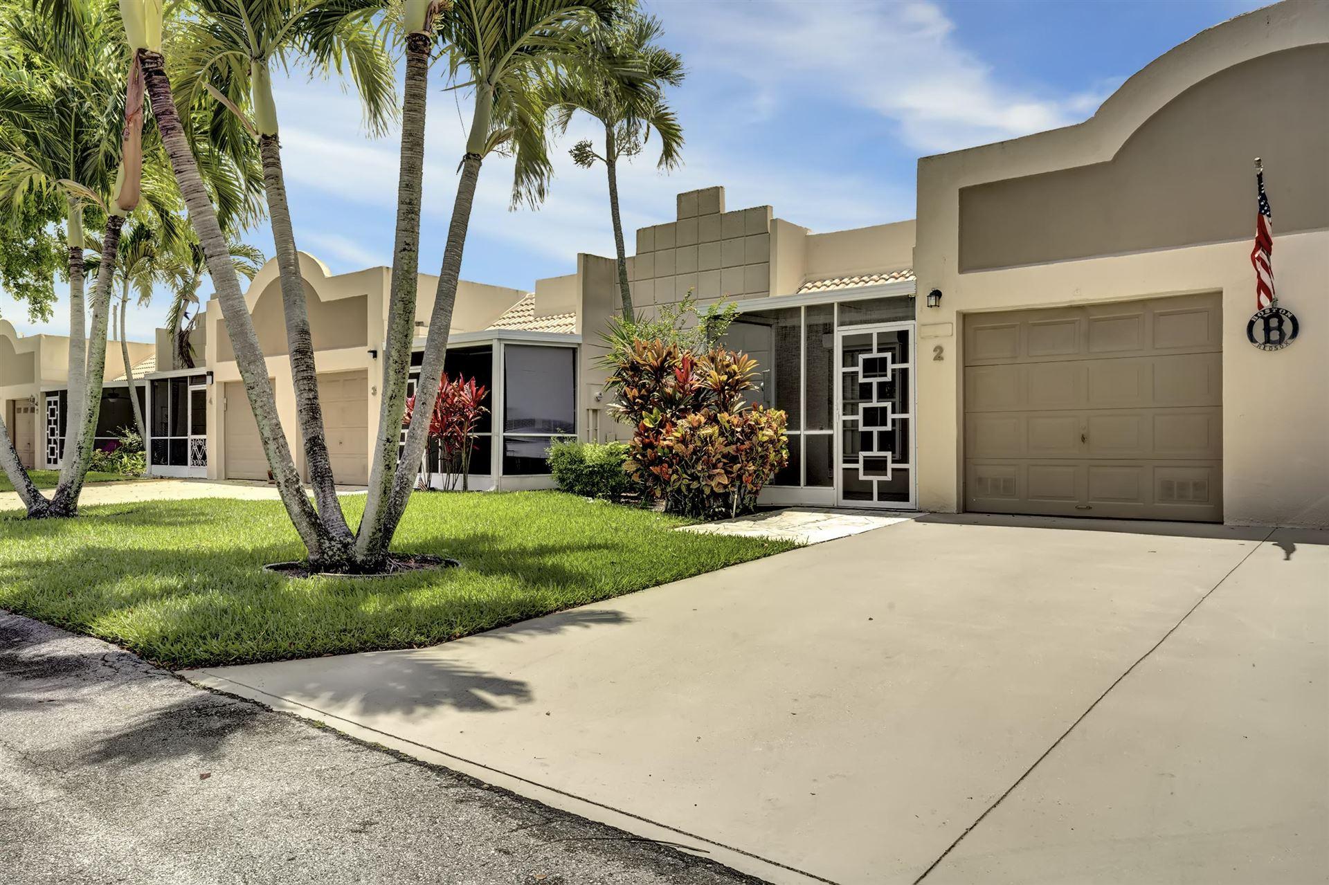 18970 Stewart Circle #2, Boca Raton, FL 33496 - #: RX-10626025