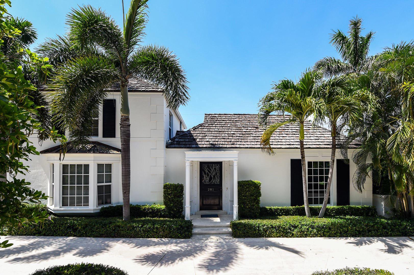281 Monterey Road, Palm Beach, FL 33480 - #: RX-10630025