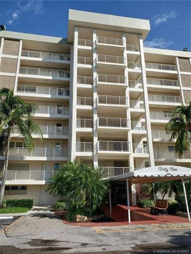 Photo of 3091 N Course Drive #706, Pompano Beach, FL 33069 (MLS # RX-10715026)