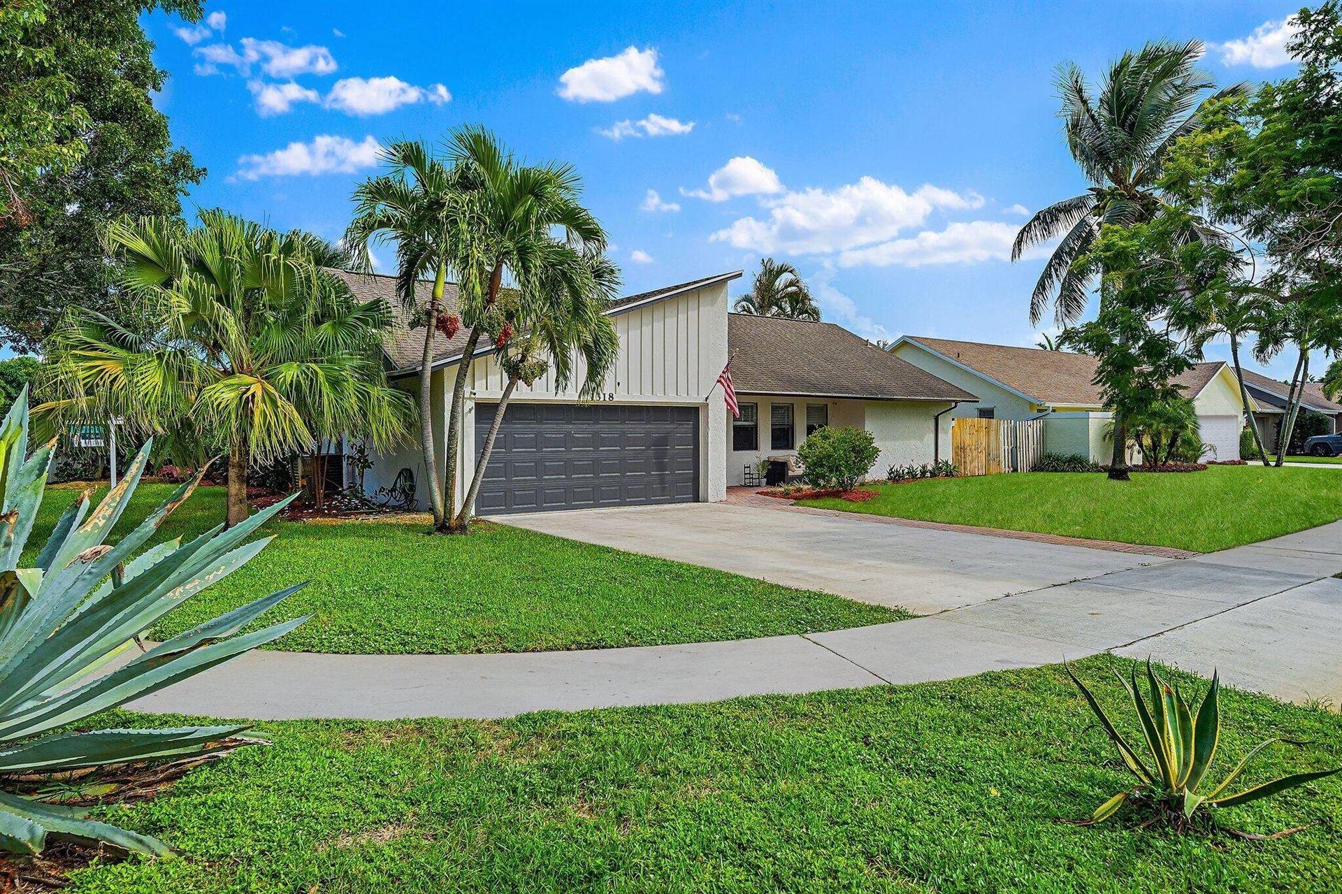 1318 Hummingbird Drive, Delray Beach, FL 33444 - MLS#: RX-10752026
