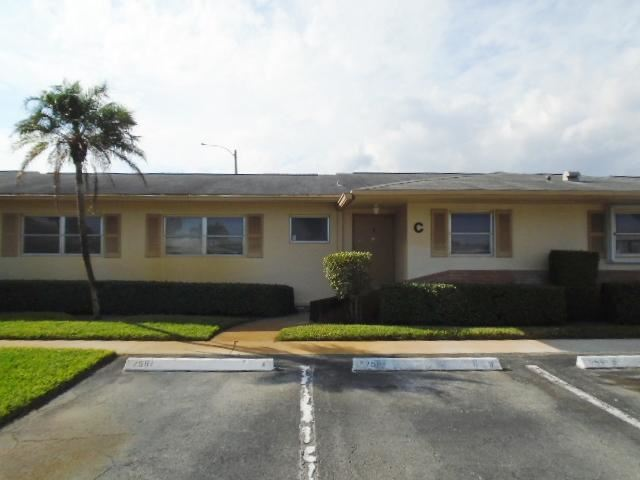 2591 Barkley Drive W #C, West Palm Beach, FL 33415 - MLS#: RX-10685027