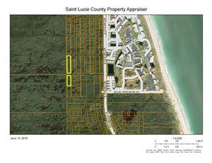 Photo of Xxxx S Ocean Drive, Hutchinson Island, FL 34949 (MLS # RX-10539028)
