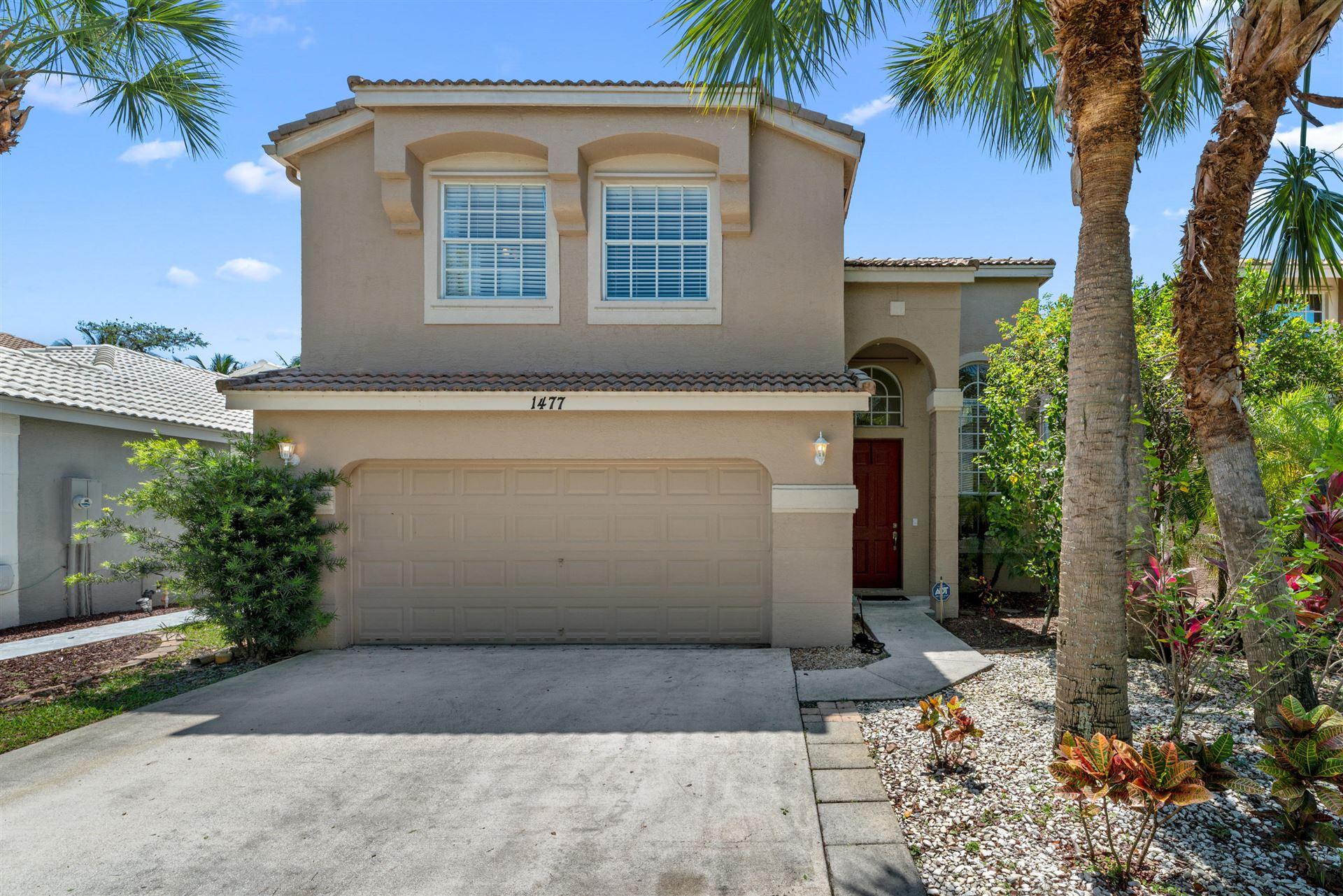 1477 Running Oak Lane, Royal Palm Beach, FL 33411 - #: RX-10619029