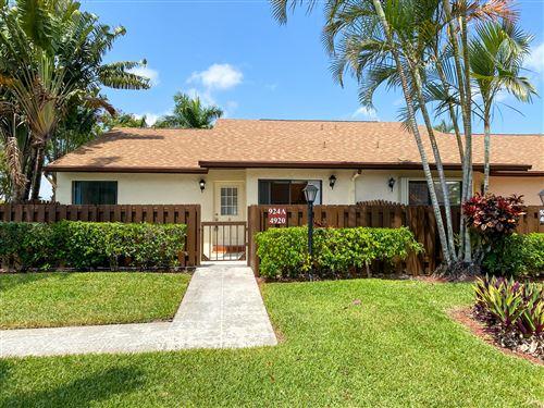 Photo of 4920 Sable Pine Circle #A, West Palm Beach, FL 33417 (MLS # RX-10707030)