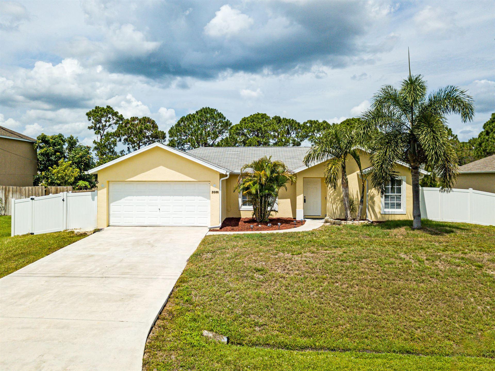 3586 SW Pisano Street, Port Saint Lucie, FL 34953 - #: RX-10716030