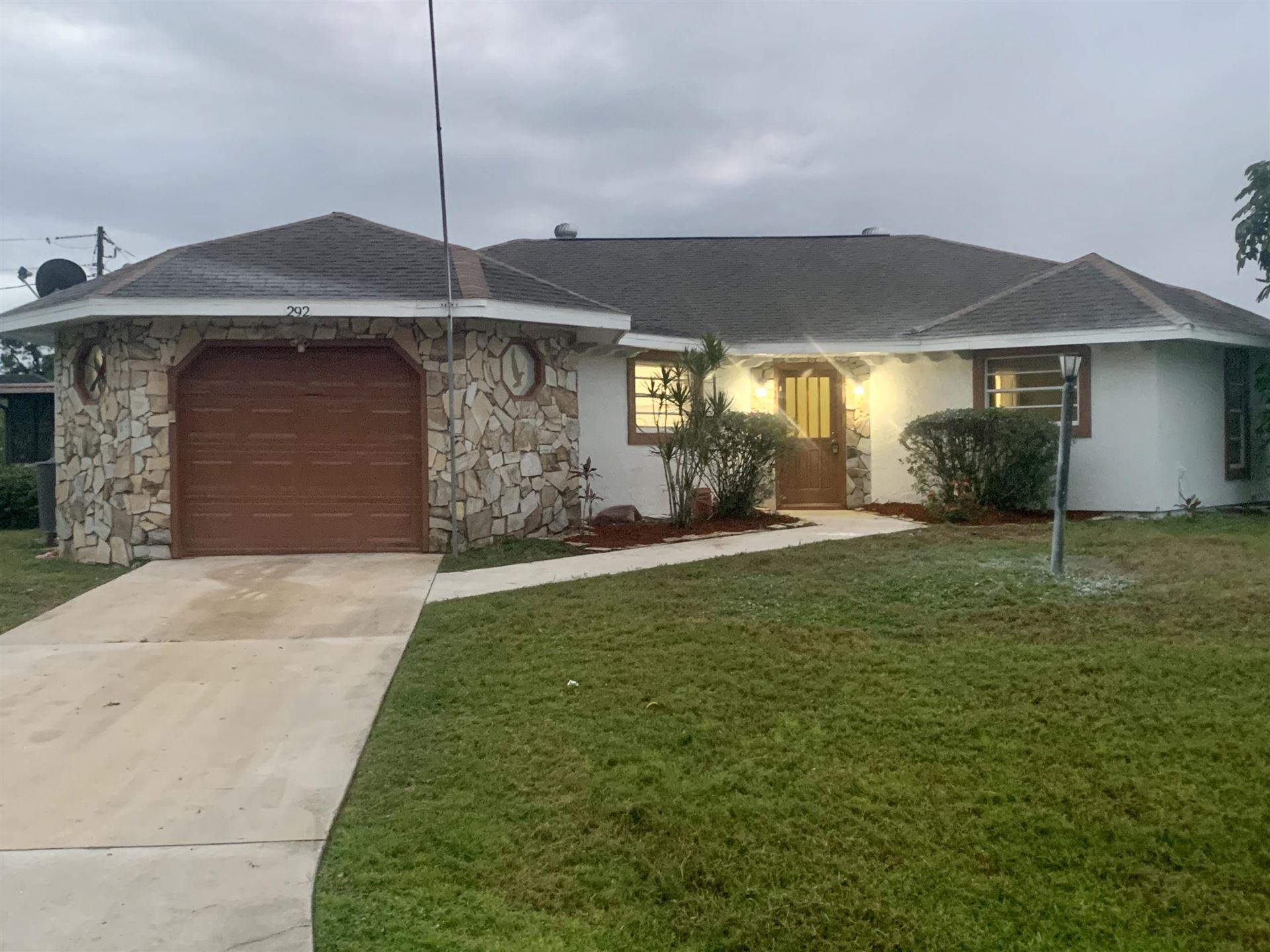 292 NW Curtis Street, Port Saint Lucie, FL 34983 - #: RX-10658031