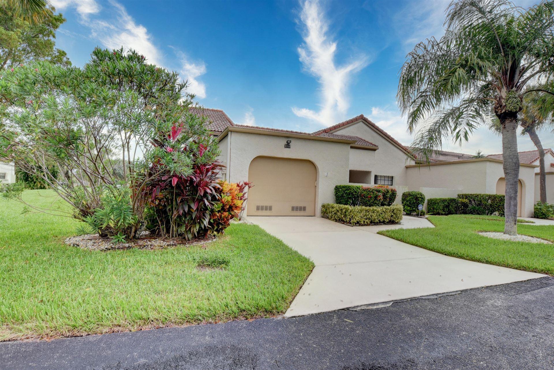 5818 W Parkwalk Circle W, Boynton Beach, FL 33472 - #: RX-10665033