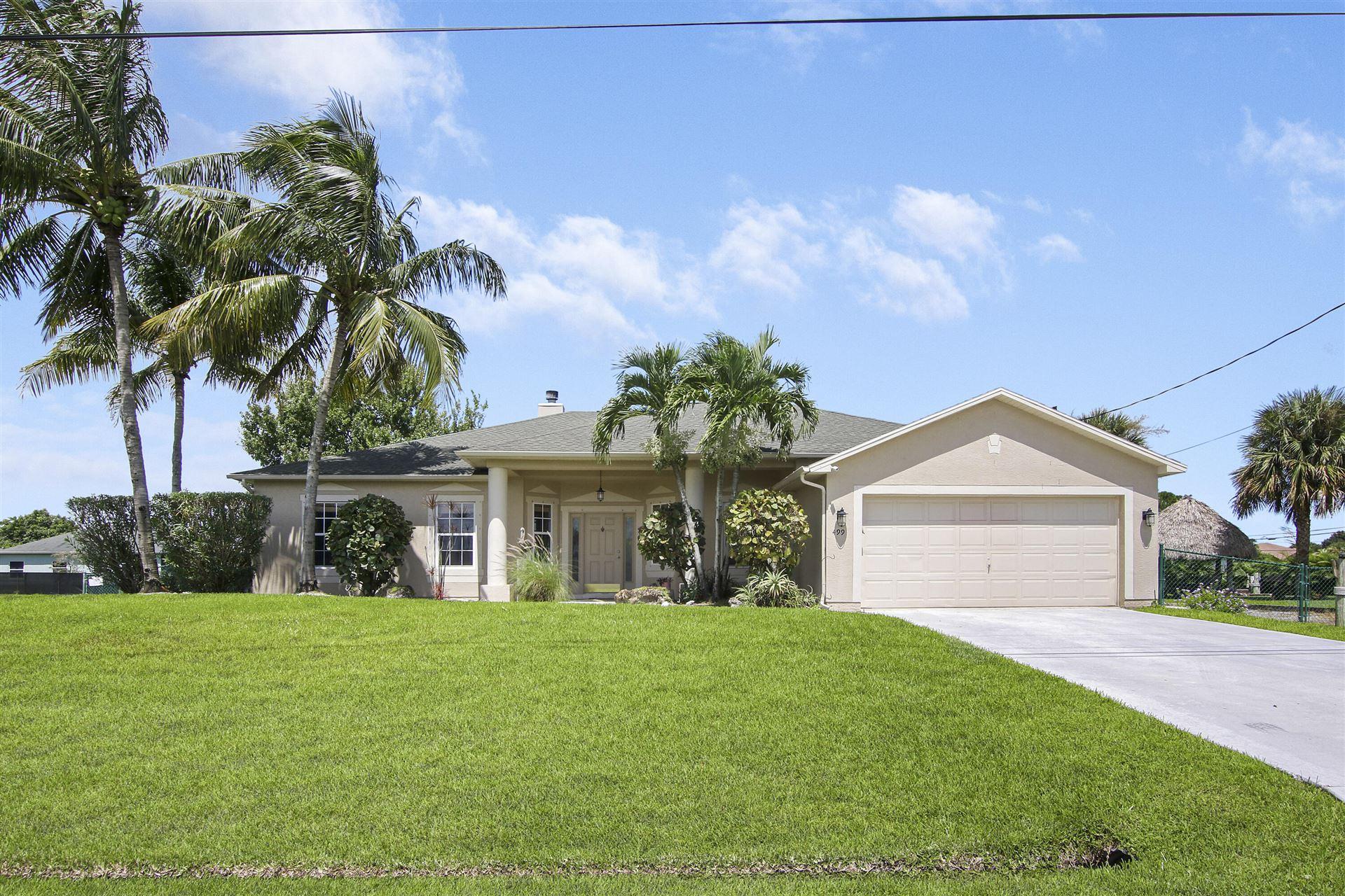 499 SW Millard Drive, Port Saint Lucie, FL 34953 - MLS#: RX-10746034