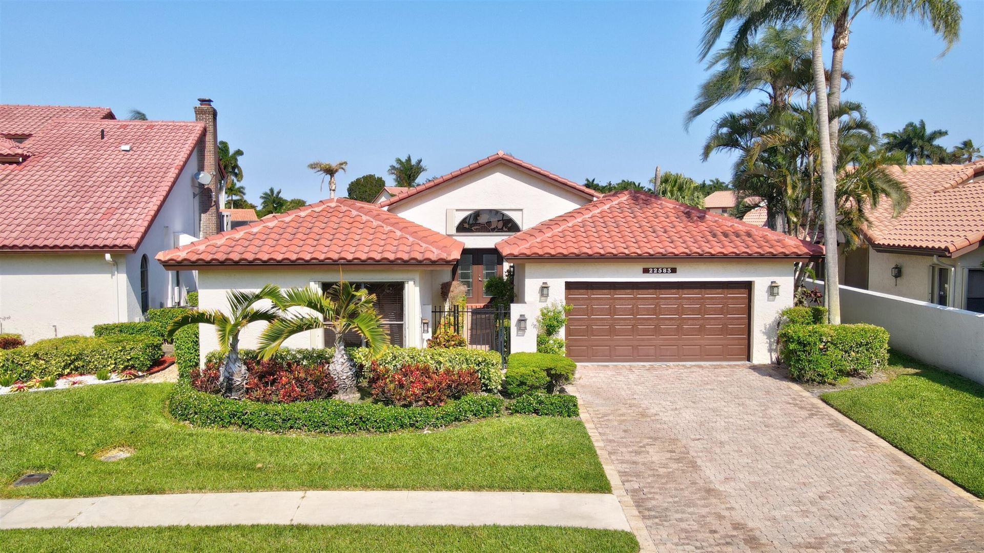 22583 Esplanada Circle W, Boca Raton, FL 33433 - #: RX-10708035