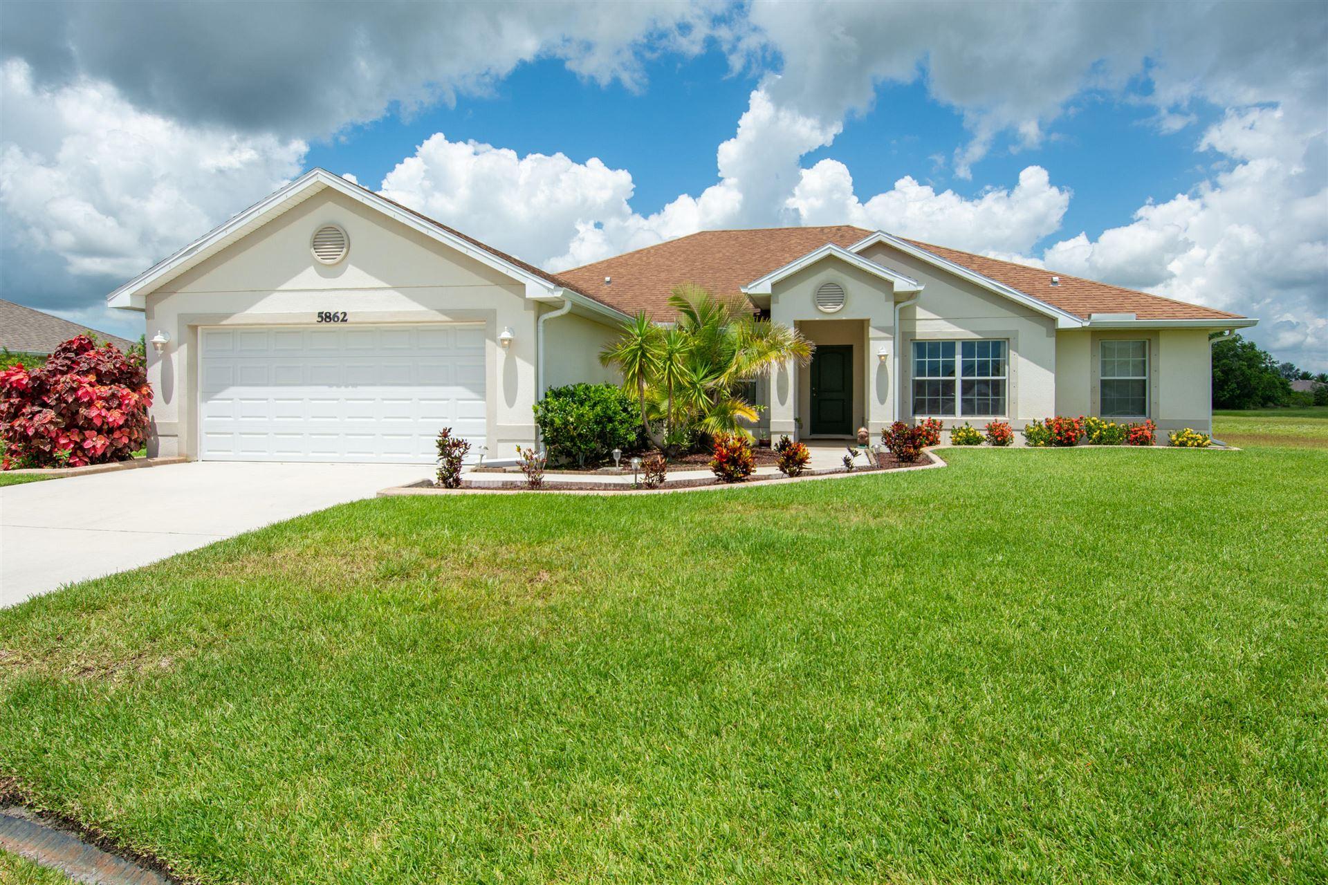 5862 NW Poe Court, Port Saint Lucie, FL 34986 - #: RX-10734036
