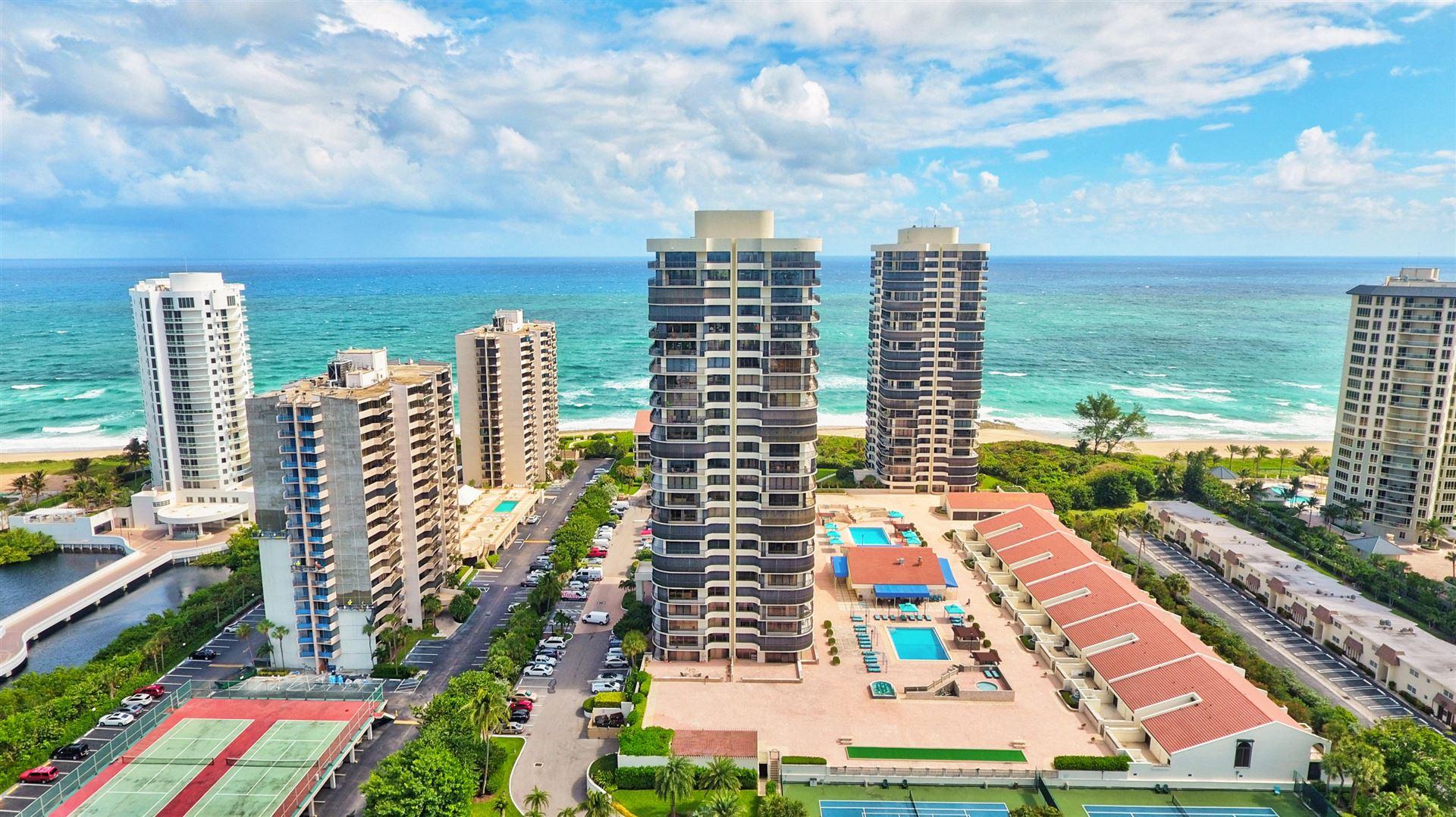 Photo of 4100 N Ocean Drive #1103, Singer Island, FL 33404 (MLS # RX-10574037)