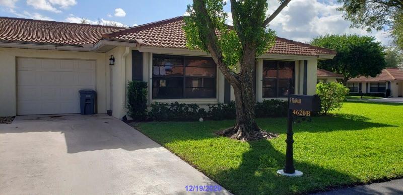 Photo of 4620 Laurel Tree Road #B, Boynton Beach, FL 33436 (MLS # RX-10683037)