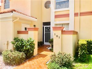 Photo of 7402 Lake Meadow Way #101, Boynton Beach, FL 33437 (MLS # RX-10539039)