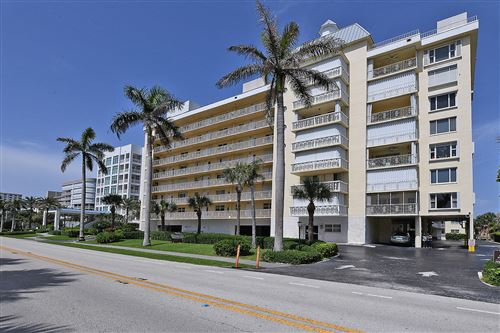 Photo of 3114 S Ocean Boulevard #206, Highland Beach, FL 33487 (MLS # RX-10730039)