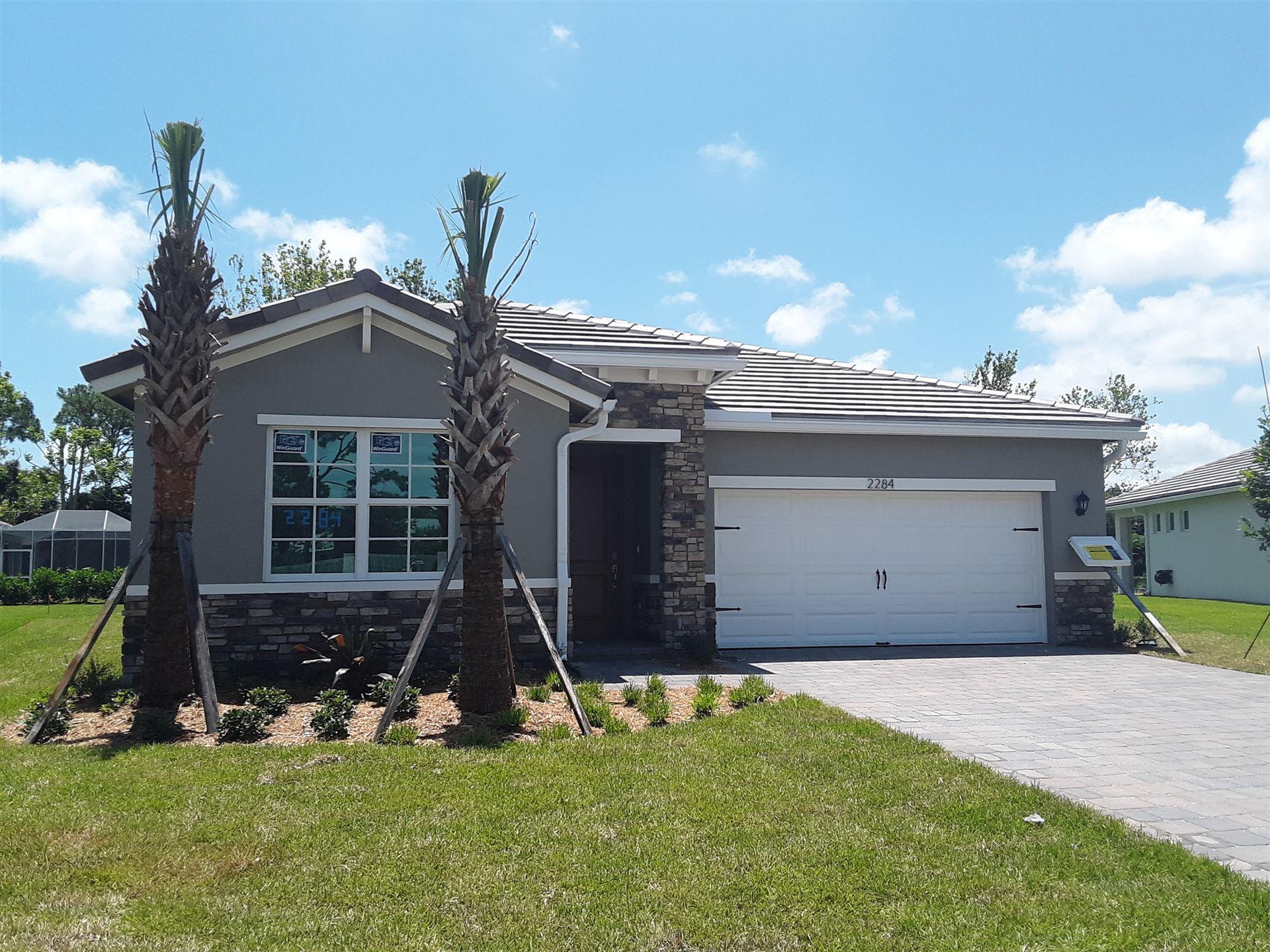 2284 SW Strawberry Terrace, Palm City, FL 34990 - #: RX-10629043