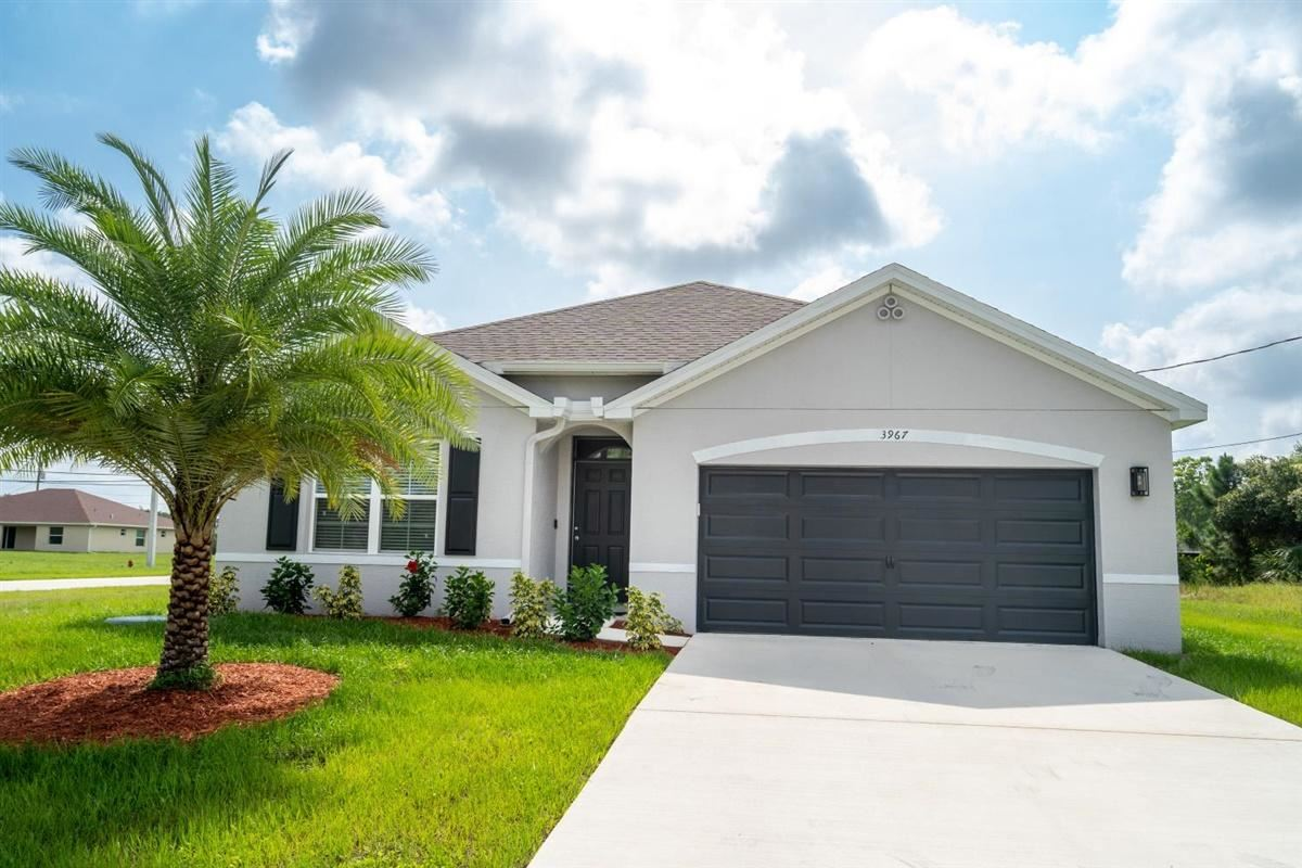 Photo of 3967 SW Kamsler Street, Port Saint Lucie, FL 34953 (MLS # RX-10638043)
