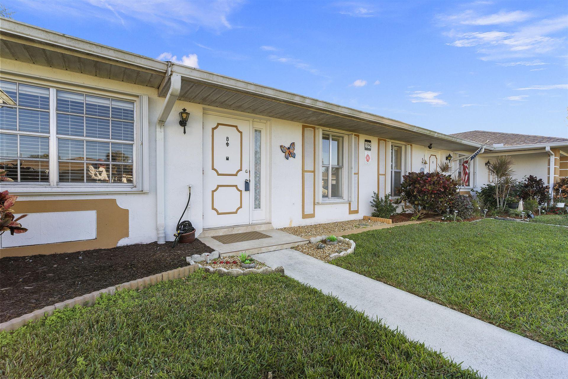 1032 Pheasant Run Drive #B, Fort Pierce, FL 34982 - #: RX-10690043