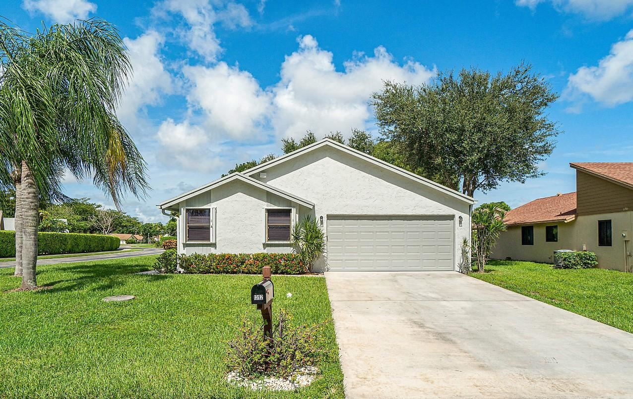 1392 NW 26th Avenue, Delray Beach, FL 33445 - #: RX-10643044