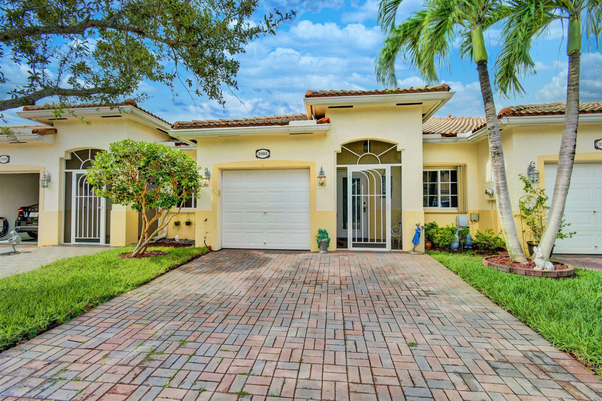 2393 Windjammer Way, West Palm Beach, FL 33411 - #: RX-10665044