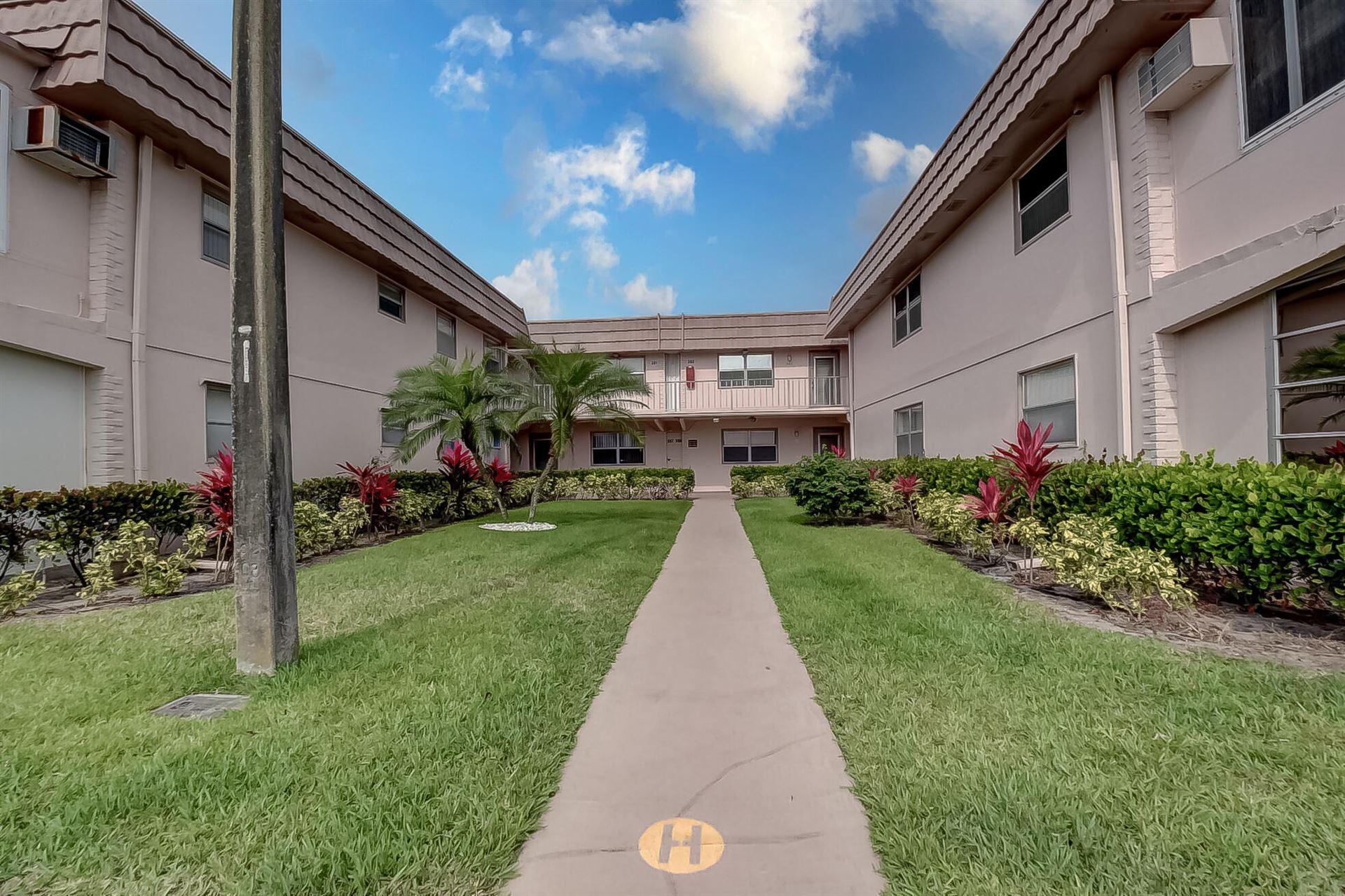 357 Saxony H, Delray Beach, FL 33446 - MLS#: RX-10710044