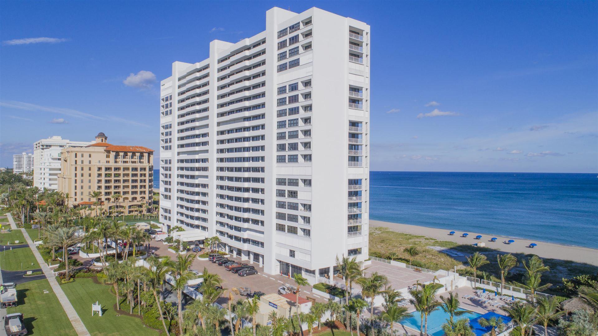 2600 S Ocean Boulevard #7-D, Boca Raton, FL 33432 - #: RX-10748044