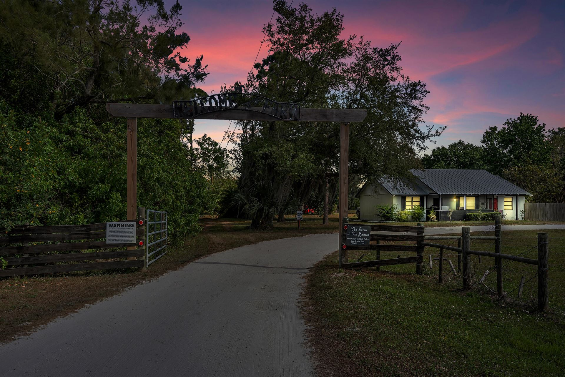 Photo of 9601 SW Fox Brown Road, Indiantown, FL 34956 (MLS # RX-10707045)
