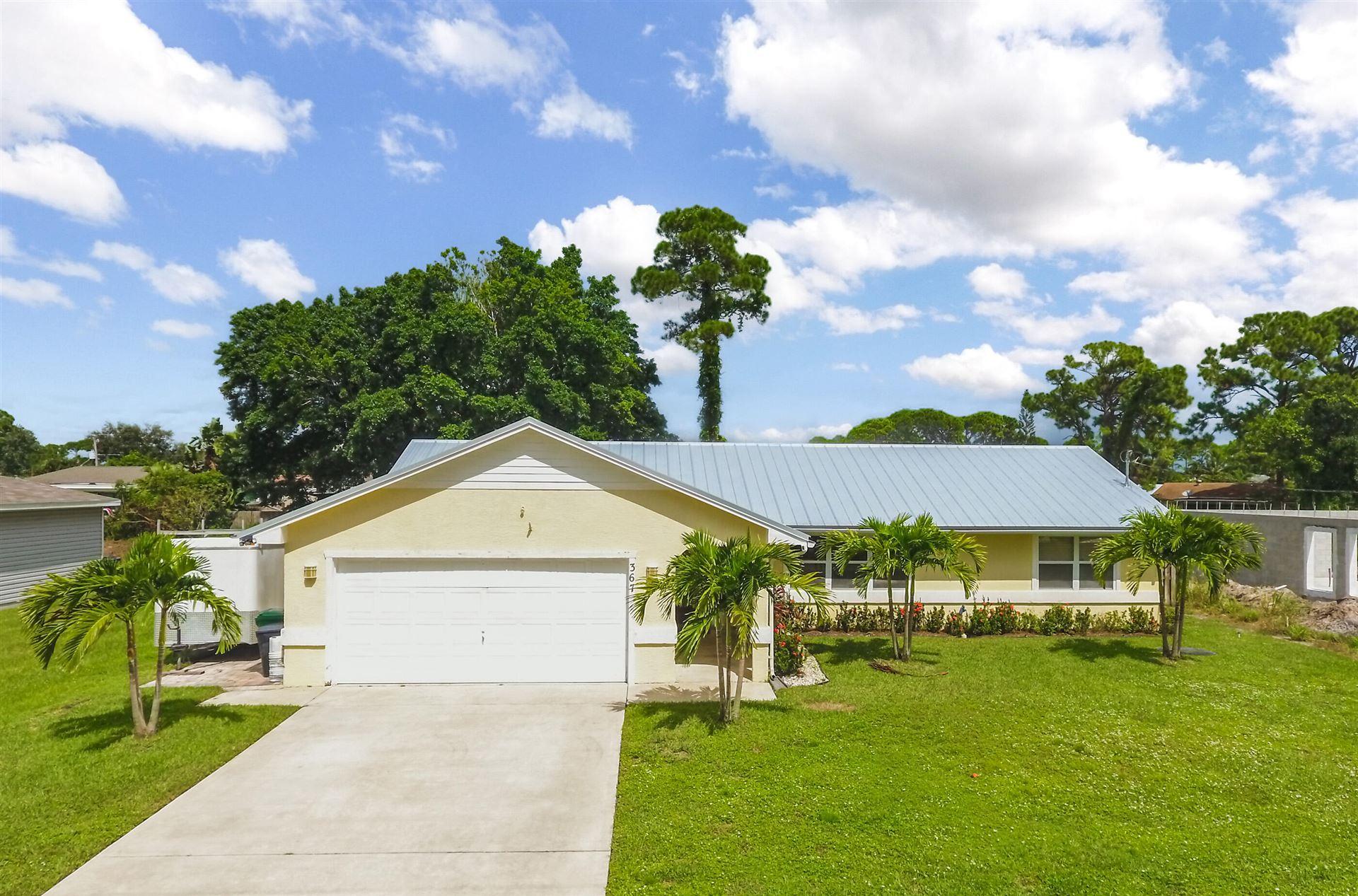 367 SE Fallon Drive, Port Saint Lucie, FL 34983 - #: RX-10748045