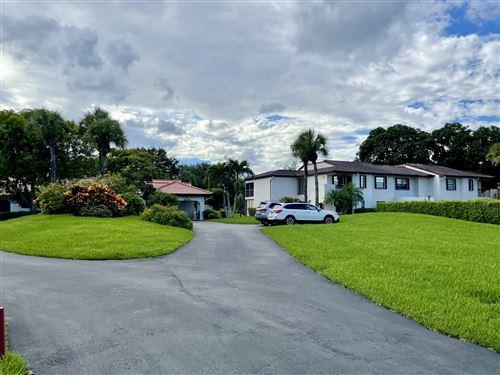Photo of 8206 Casa Del Lago #23-A, Boca Raton, FL 33433 (MLS # RX-10746046)