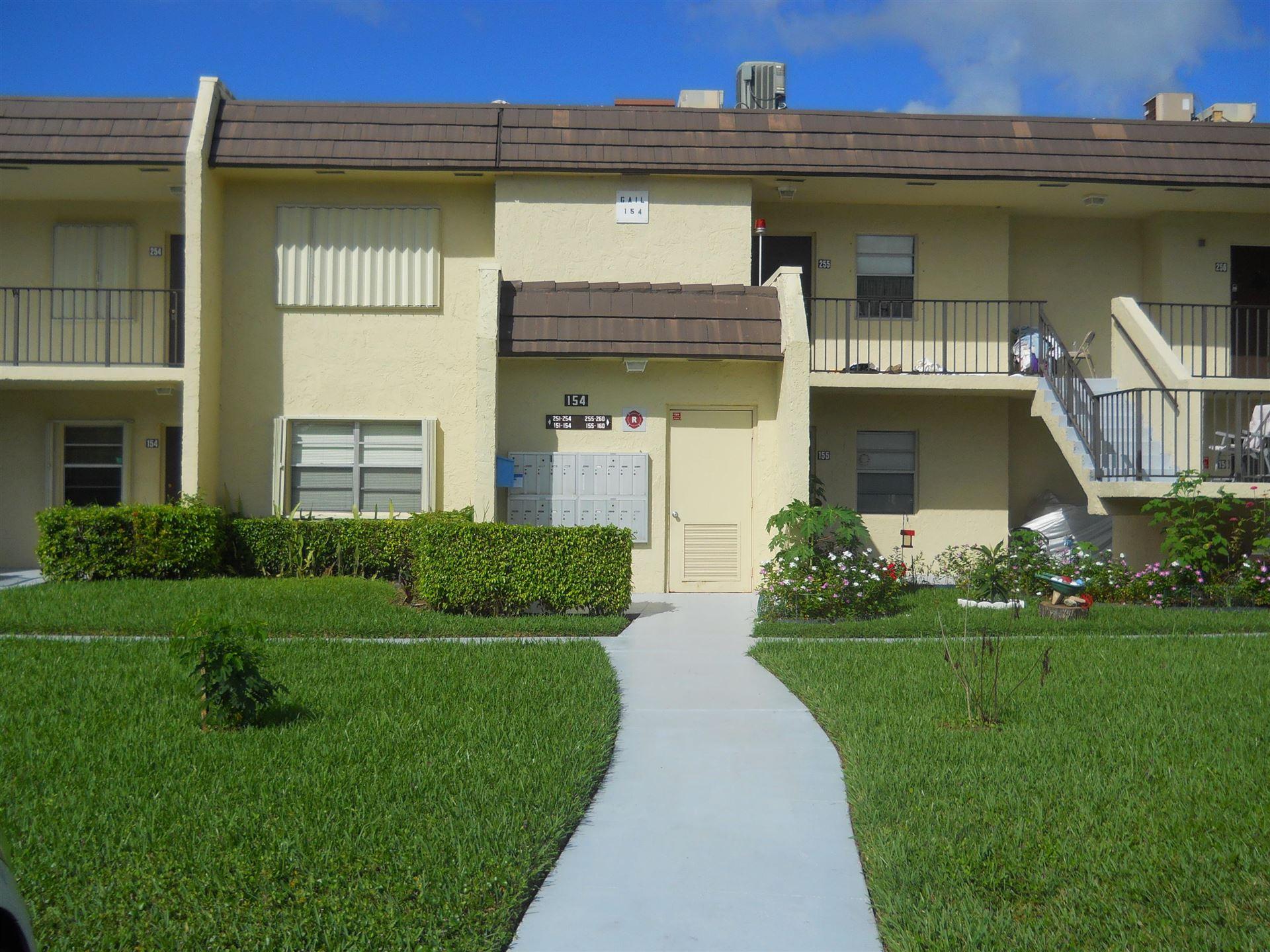 154 Lake Meryl Drive #154, West Palm Beach, FL 33411 - #: RX-10603046