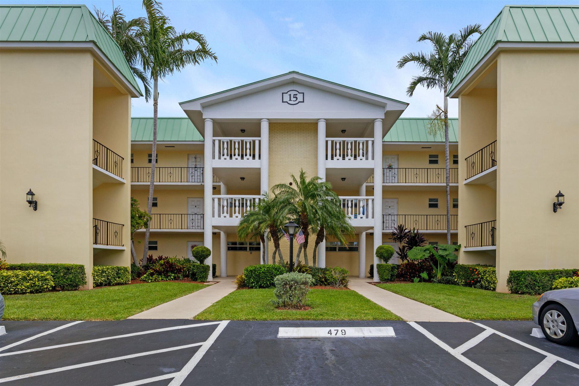 15 Colonial Club Drive #202, Boynton Beach, FL 33435 - #: RX-10728047