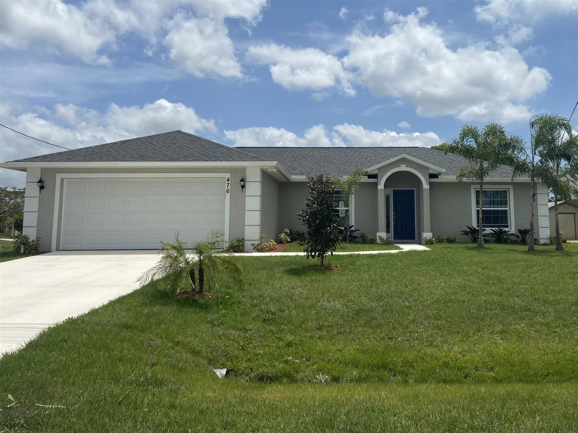 476 SE Nome Drive, Port Saint Lucie, FL 34984 - MLS#: RX-10716048