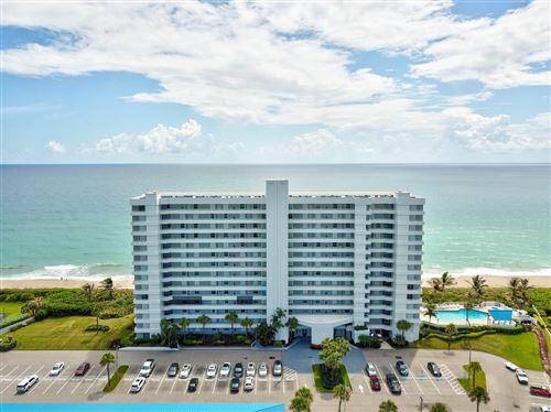 Photo of 9600 S Ocean Drive #307, Jensen Beach, FL 34957 (MLS # RX-10732049)