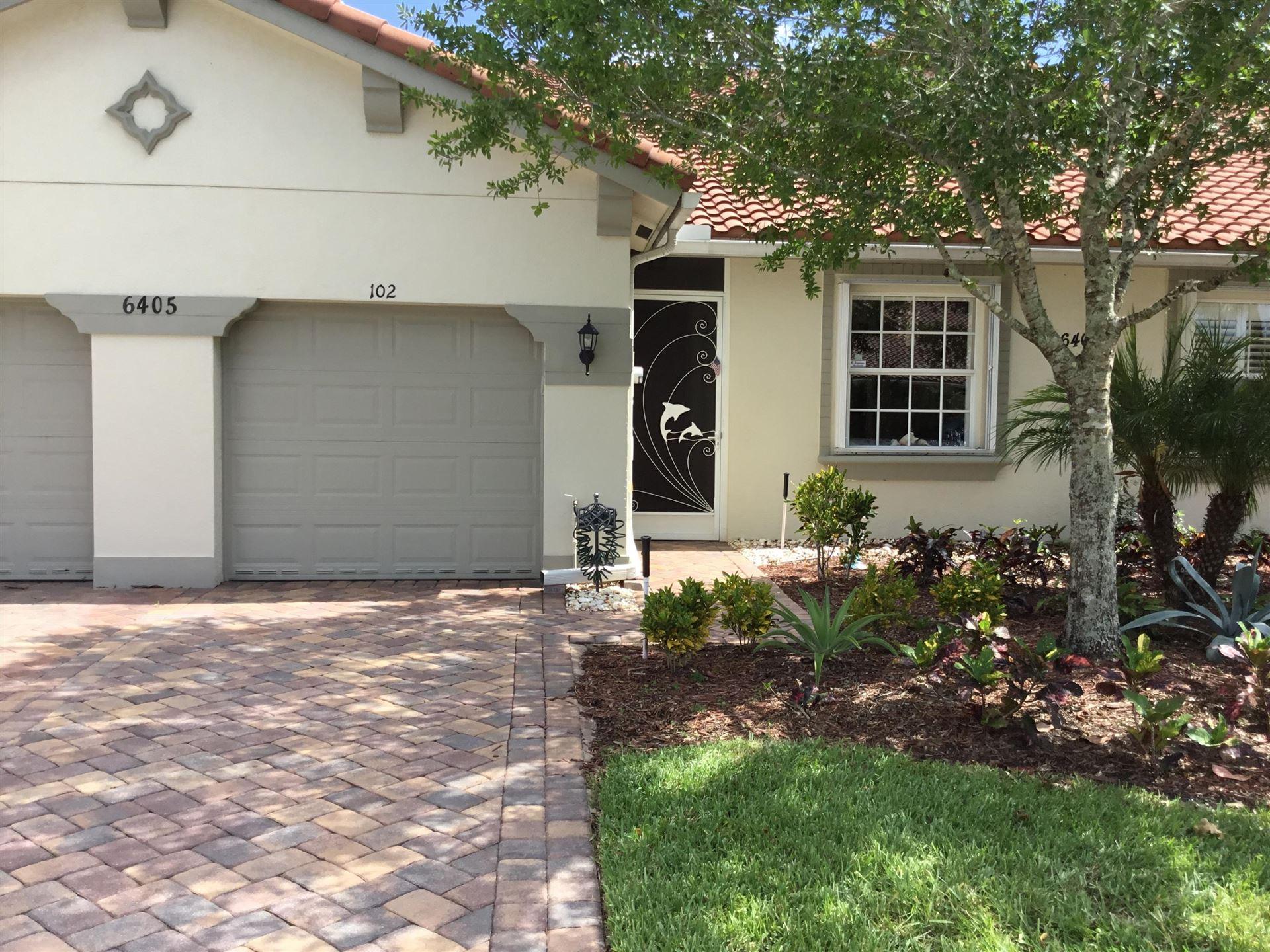 6405 Oxford Circle #102b, Vero Beach, FL 32966 - #: RX-10630049