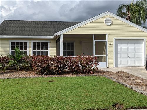 Photo of 7903 Burlwood Lane, Lake Worth, FL 33467 (MLS # RX-10748051)