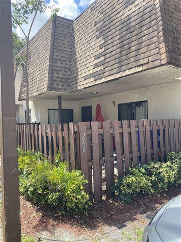 Photo of 240 San Remo Boulevard #240, North Lauderdale, FL 33068 (MLS # RX-10709052)
