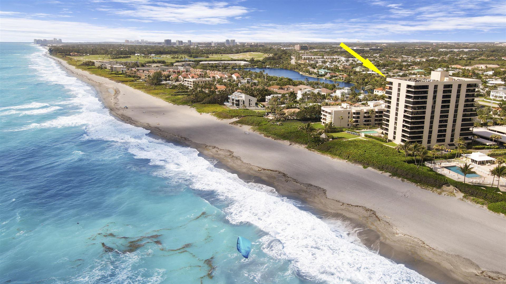 Photo for 450 Ocean Drive #1105, Juno Beach, FL 33408 (MLS # RX-10712053)