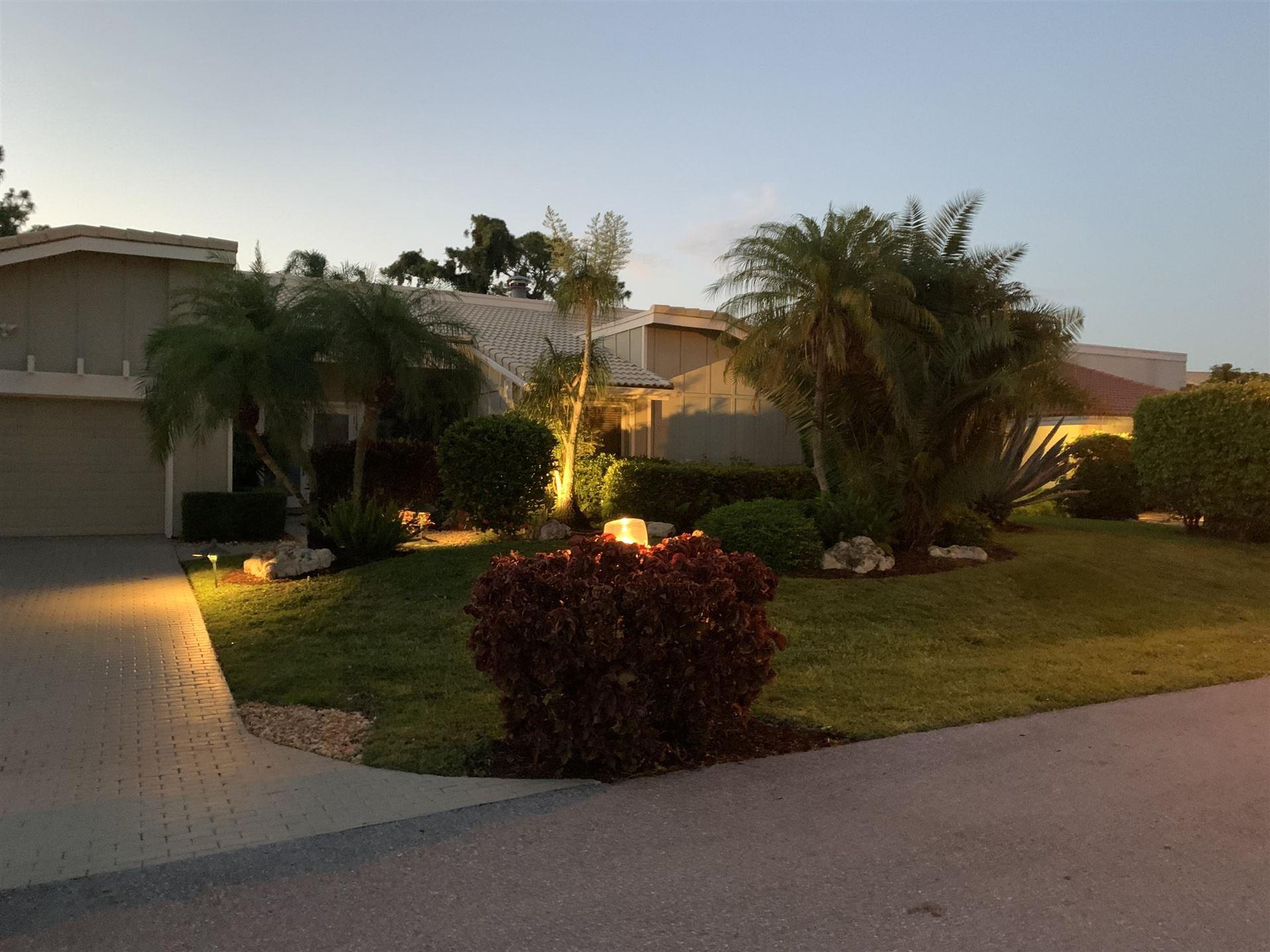 4909 Pineview Circle, Delray Beach, FL 33445 - #: RX-10725053