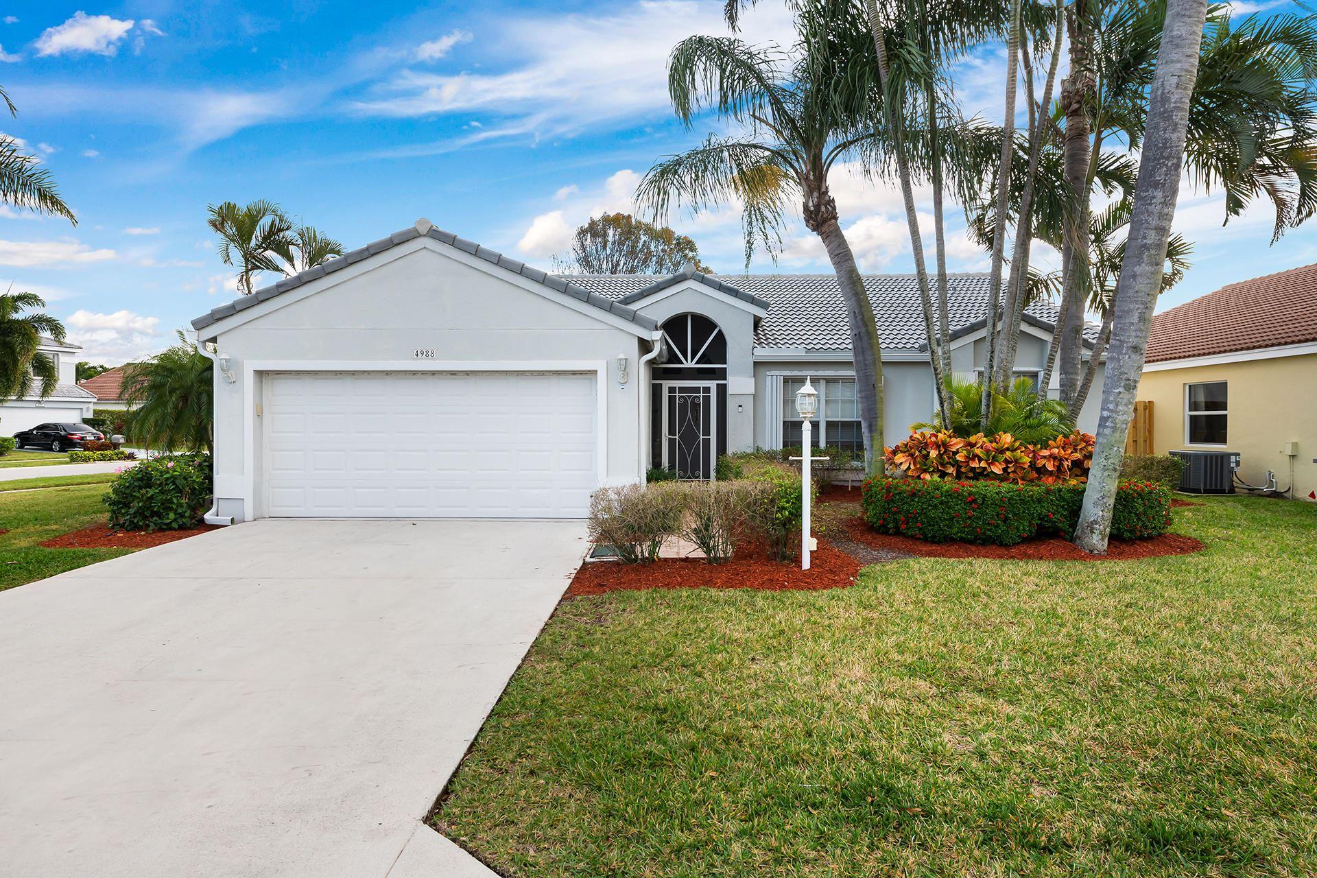 4988 Broadstone Circle, West Palm Beach, FL 33417 - #: RX-10688054