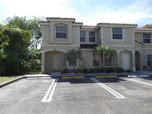 Photo of 983 Summit Lake Drive, West Palm Beach, FL 33406 (MLS # RX-10755056)