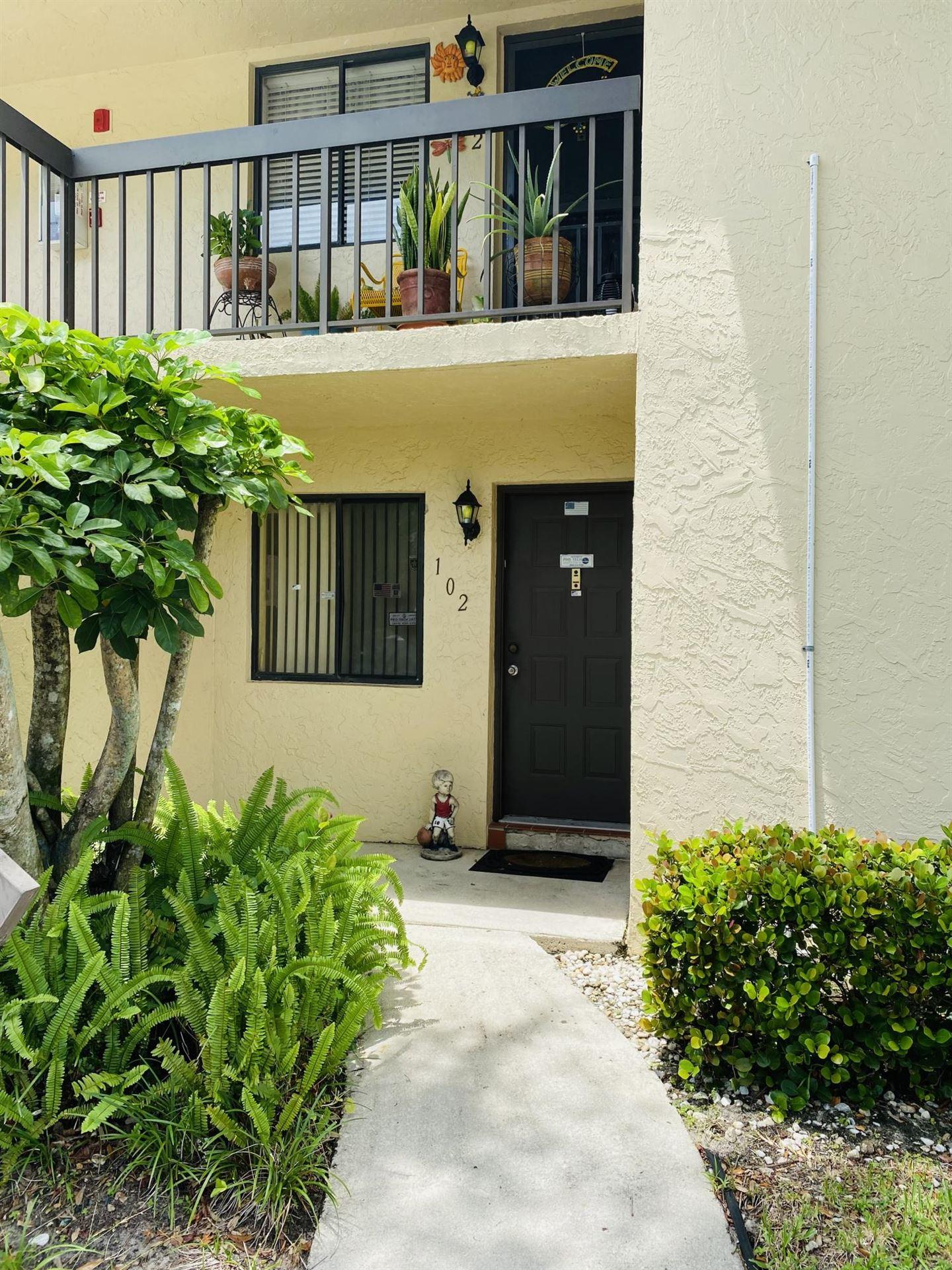 21955 Tidewater Terrace #102, Boca Raton, FL 33433 - #: RX-10736056