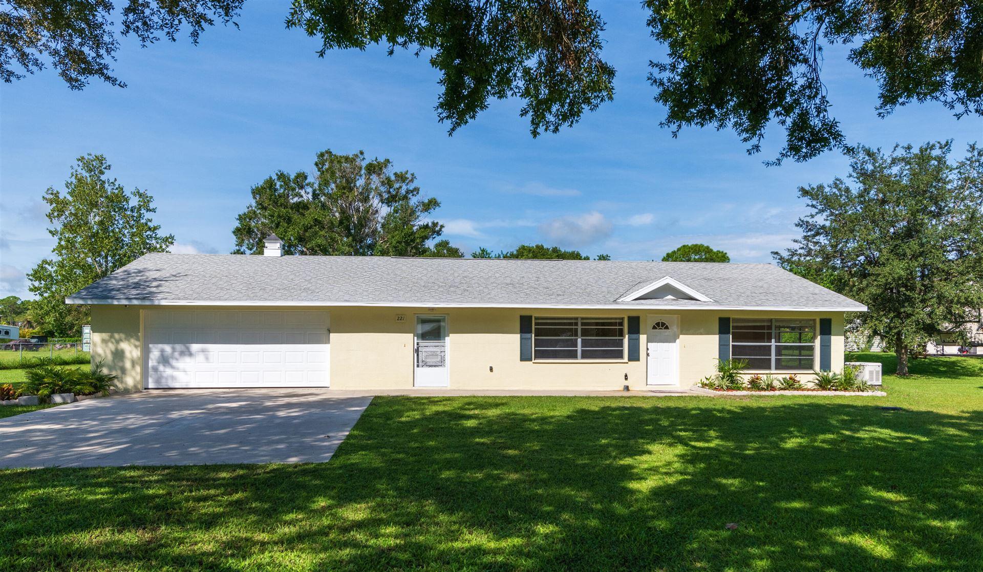221 Emerald Avenue, Fort Pierce, FL 34945 - MLS#: RX-10746056