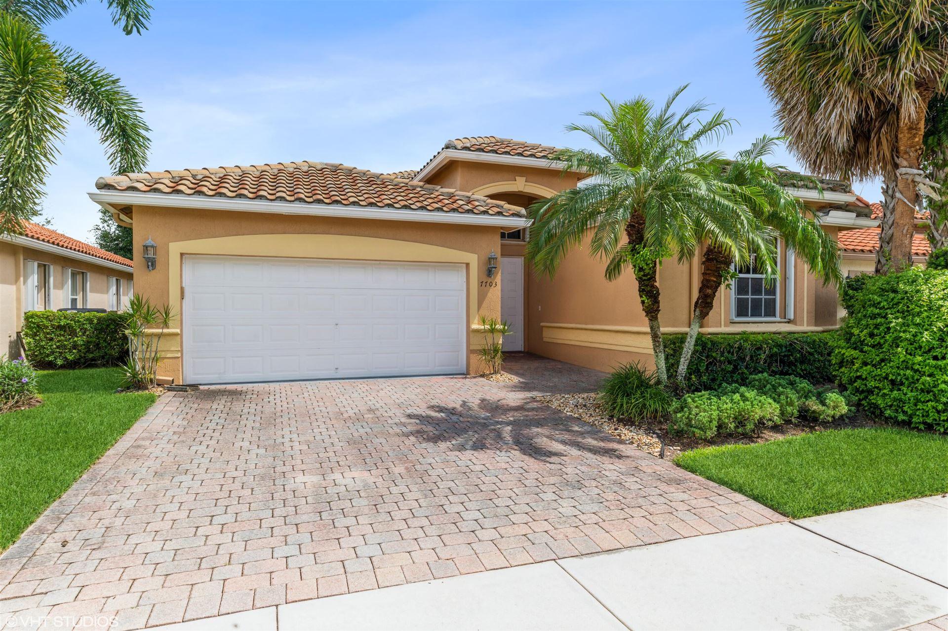 7703 Caprio Drive, Boynton Beach, FL 33472 - #: RX-10747056