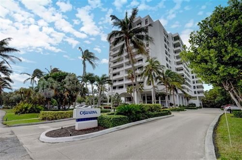 Photo of 3450 S Ocean Boulevard #704, Highland Beach, FL 33487 (MLS # RX-10673057)