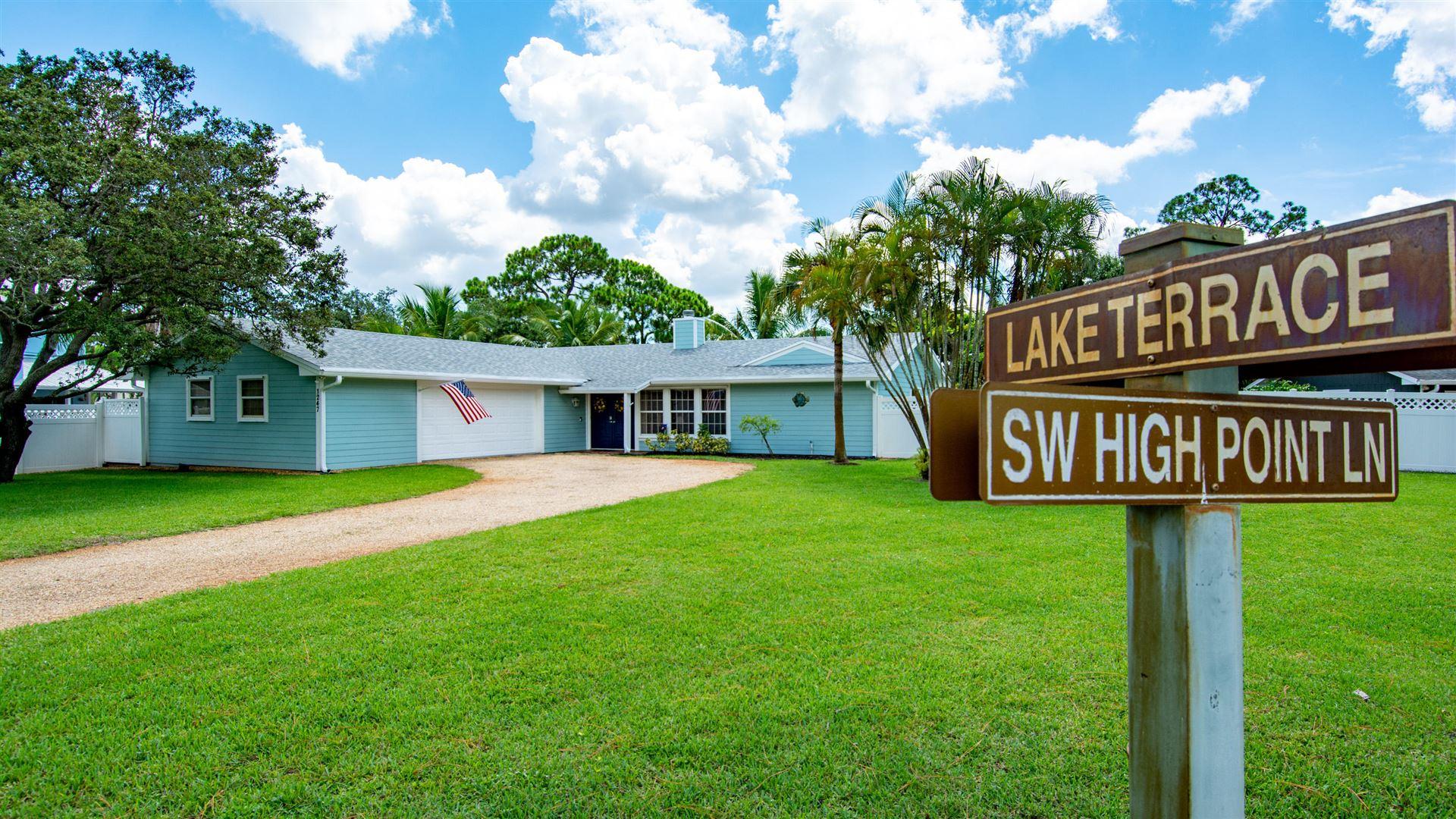 1247 SW High Point Lane, Palm City, FL 34990 - #: RX-10734057