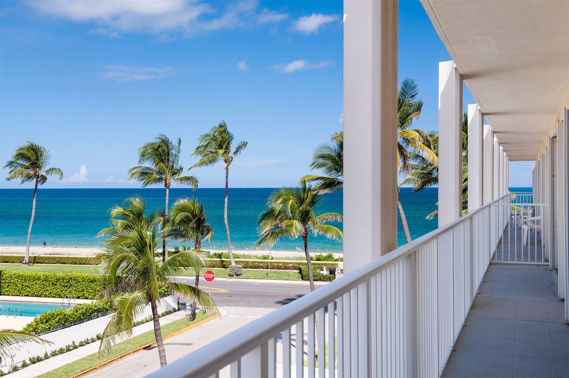 350 S Ocean Boulevard #306, Palm Beach, FL 33480 - #: RX-10578059
