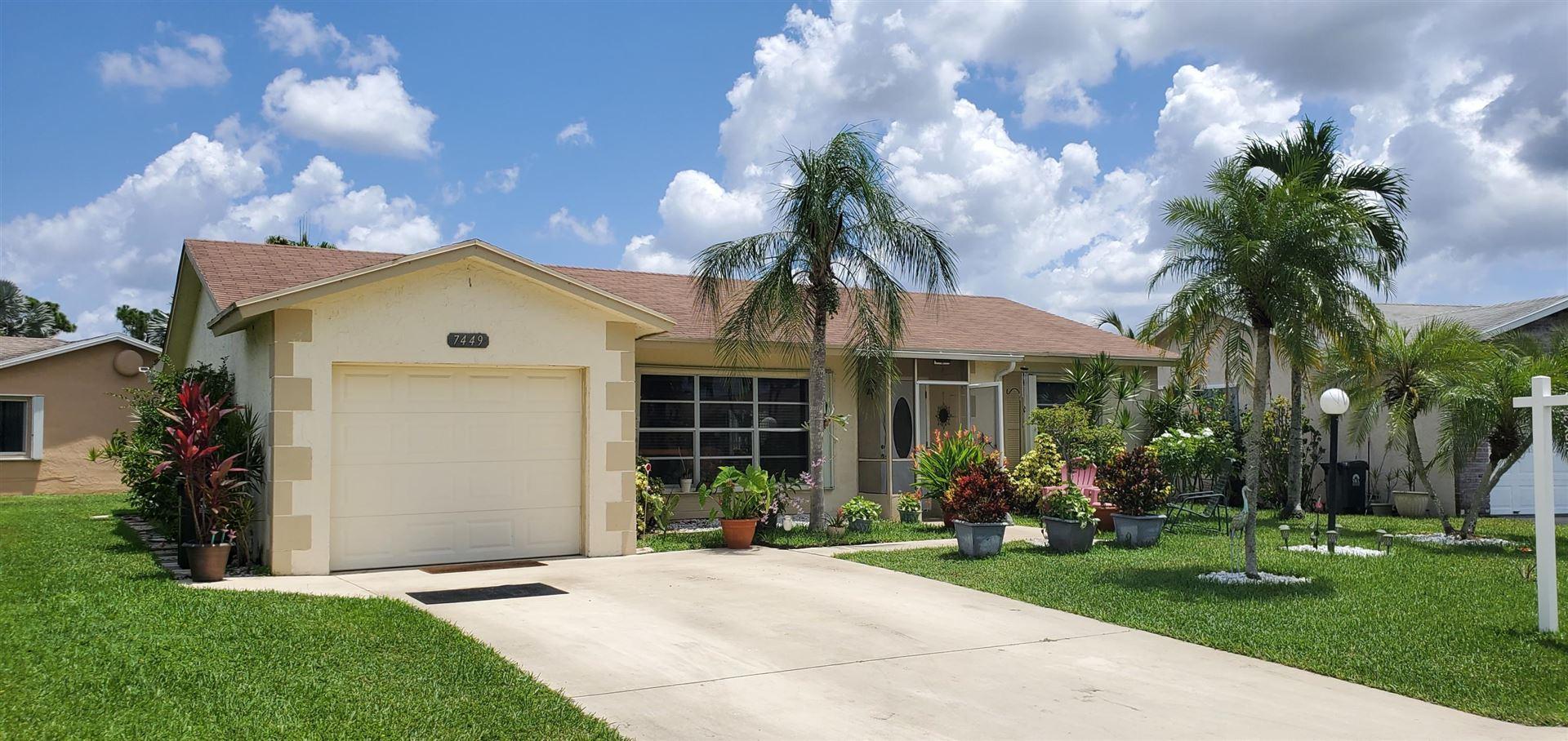 7449 Pine Park Drive S, Lake Worth, FL 33467 - #: RX-10632060