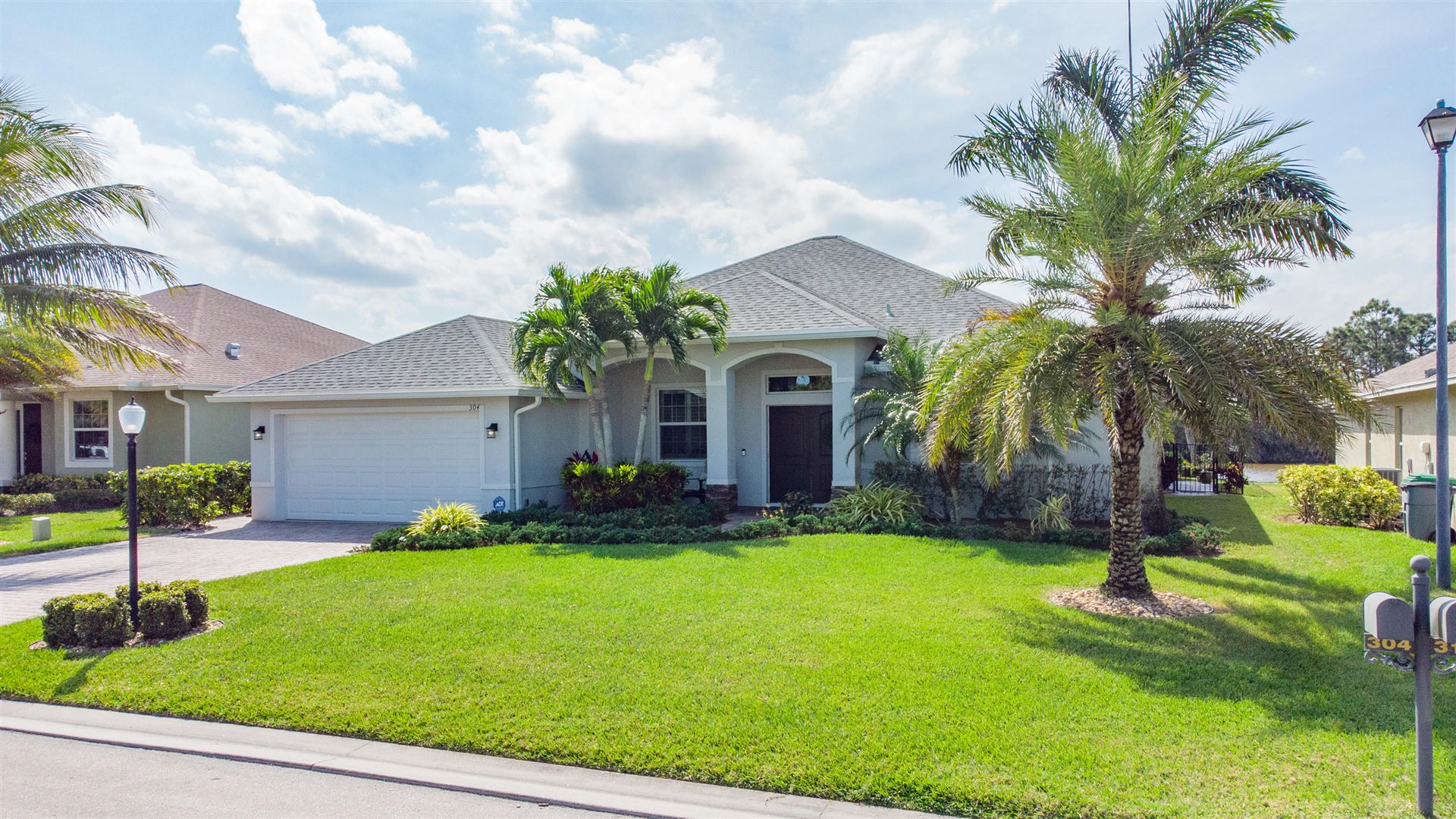 304 SW Vista Lake Drive, Port Saint Lucie, FL 34953 - #: RX-10701060