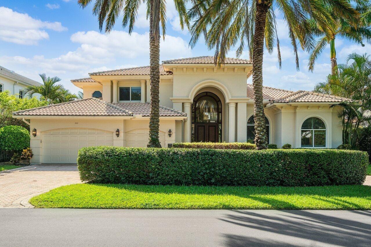 342 S Silver Palm Road, Boca Raton, FL 33432 - #: RX-10744061