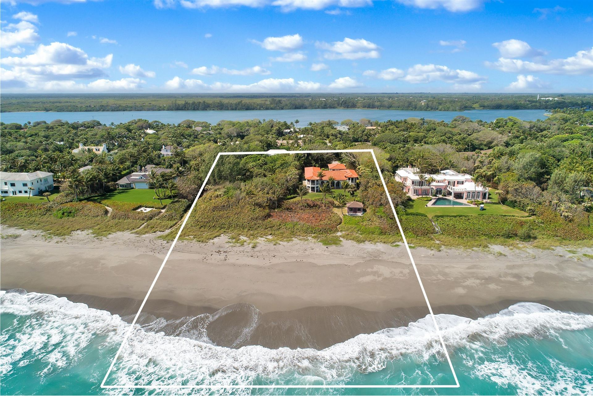 Photo of 119 S Beach Road, Hobe Sound, FL 33455 (MLS # RX-10750061)